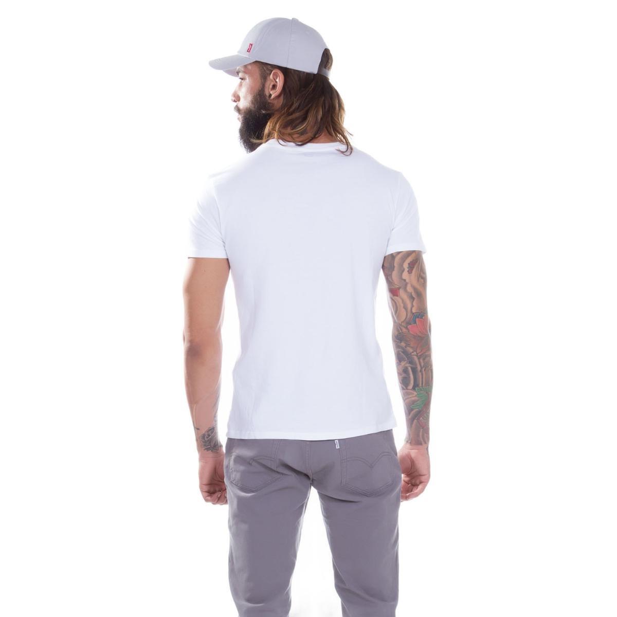 camiseta levi s masculino graphic two horse branco. Carregando zoom. 5a26948fbd2