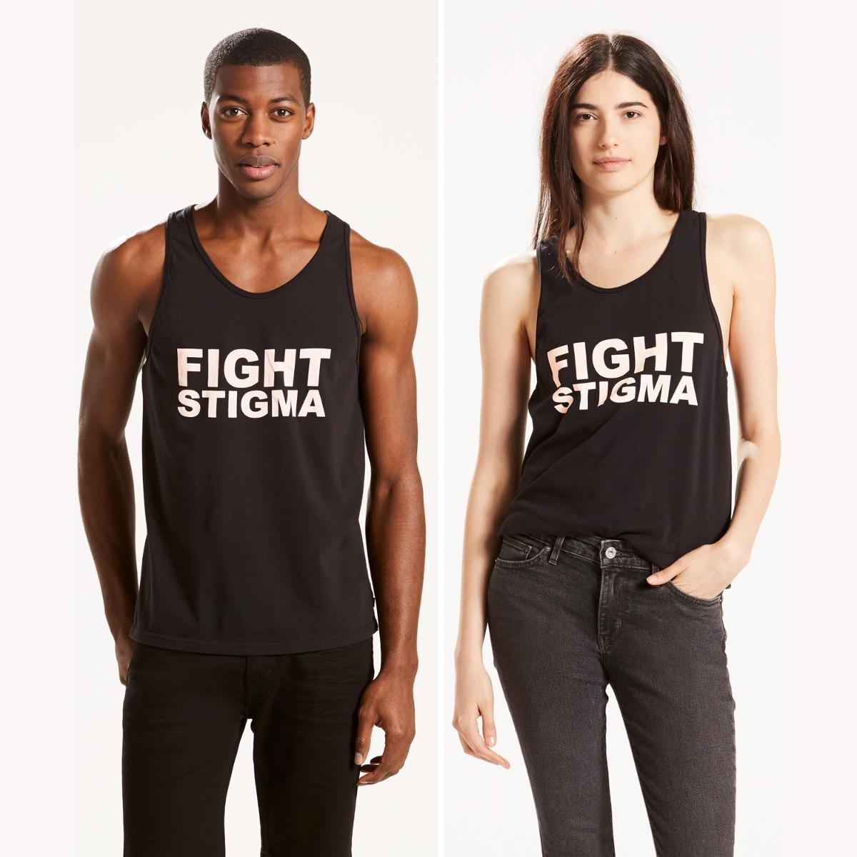 buscar auténtico elige genuino zapatillas de deporte para baratas Camiseta Levis Pride Community Tank Preta
