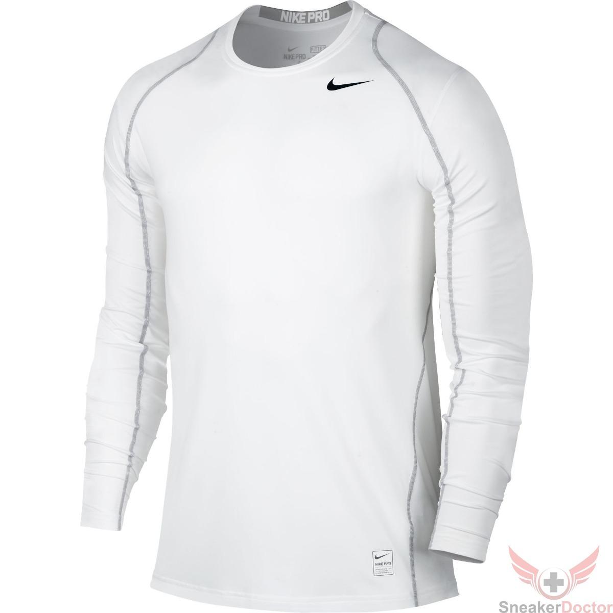 eb4f979e0361f Camiseta Licra Nike Pro Cool Fitted Manga Larga Compresión ...