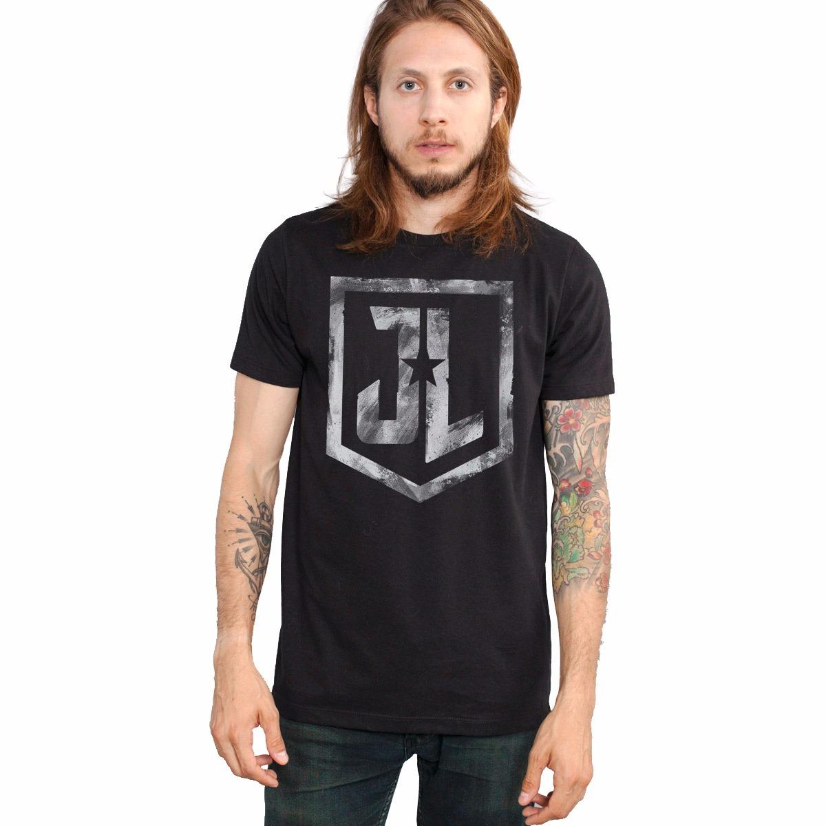 3e50eb92e camiseta liga da justiça oficial combo com 3 camisetas. Carregando zoom.