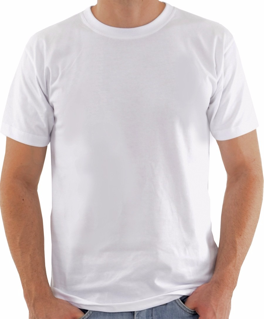 c423eb63918b1 camiseta lisa barata 100% algodão fio 30.1 penteado branca. Carregando zoom.