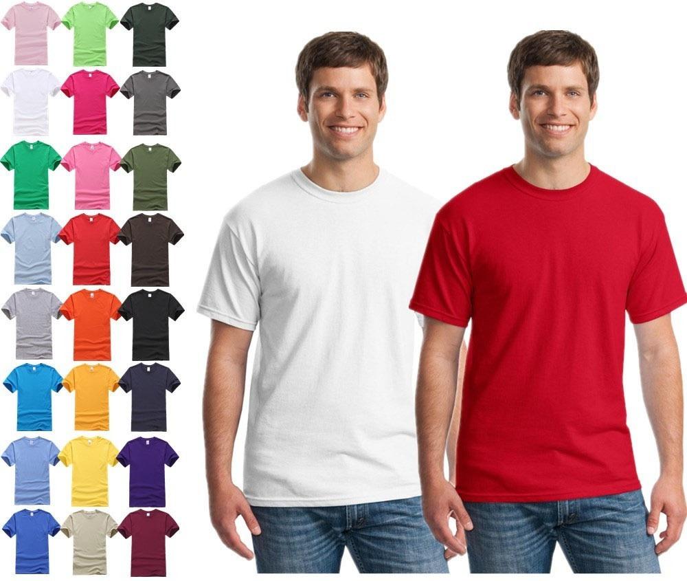 camiseta lisa básica algodão camisa várias cores disponíveis. Carregando  zoom. c4e3d08211737