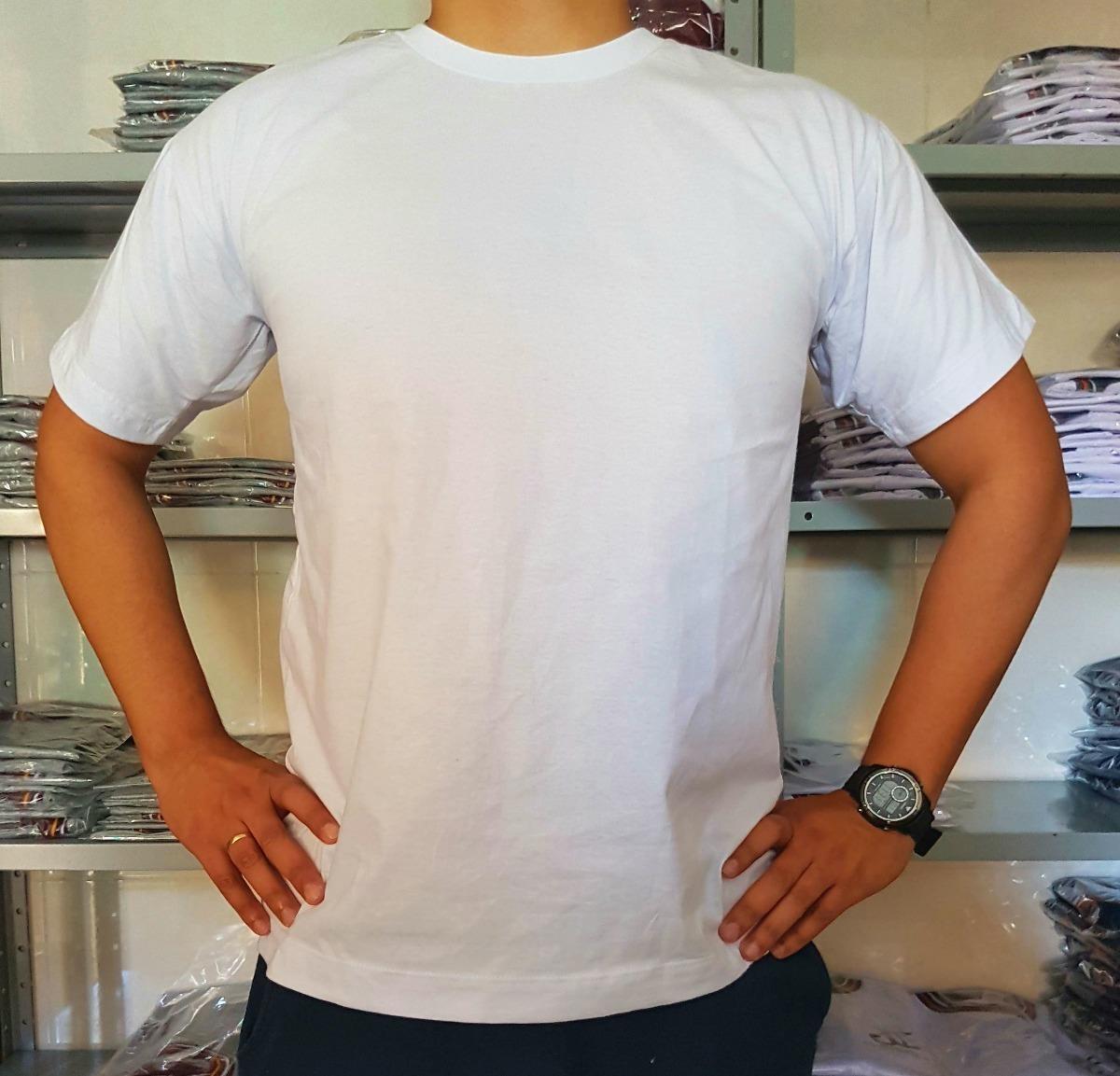 camiseta lisa branca 100% algodão - ótima qualidade! Carregando zoom. 1a188bbf391