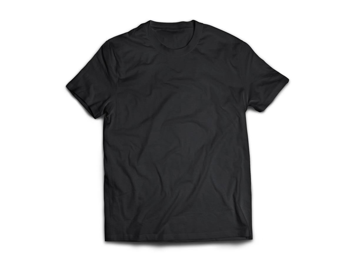 ab1a7bf944 camiseta lisa gola olímpica preta malha fria anti-pilling. Carregando zoom.