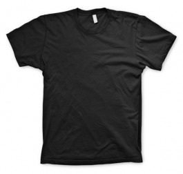 8b17f83ab2228 Camiseta Lisa Preta 100% Algodão - Fio 30.1 - Varejo atacado - R  25 ...
