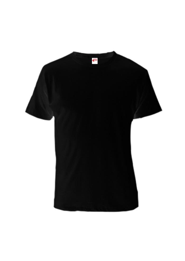 camiseta lisa preta 100% algodão - fio 30.1 - varejo atacado. Carregando  zoom. 5a40d30ced5