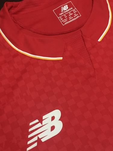 camiseta liverpool 2016 new balance talle xl original oferta