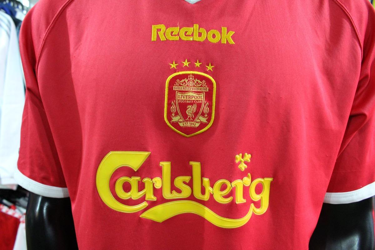ec402aca1ec Camiseta Liverpool De Inglaterra Reebok Talla L Xdx -   50.000 en ...
