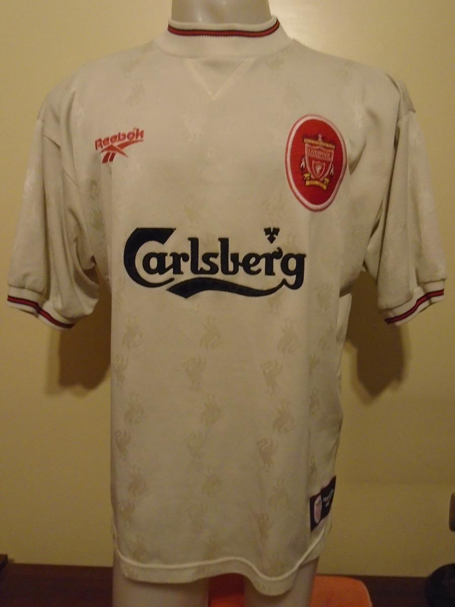 camiseta liverpool inglaterra 1996 1997 mc manaman  7 xl. Cargando zoom. 36e0f36498a3d