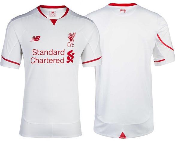 Camiseta Liverpool New Balance 2015 2016 - S  70 466ff4054aec8