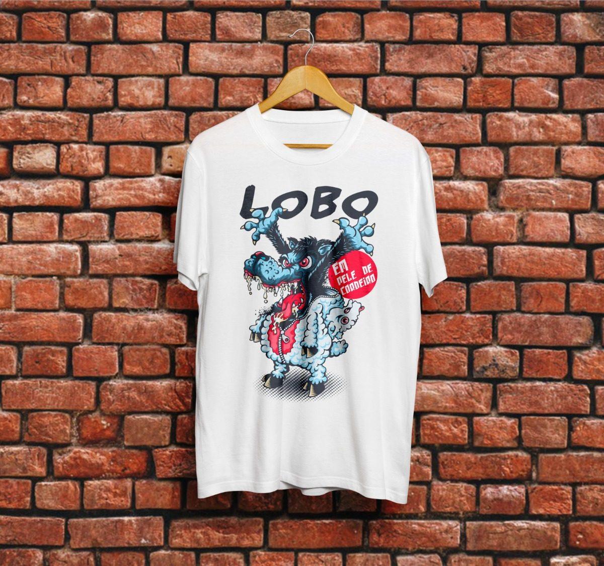 Camiseta Lobo Em Pele De Cordeiro Frases Tumblr R 4990 Em