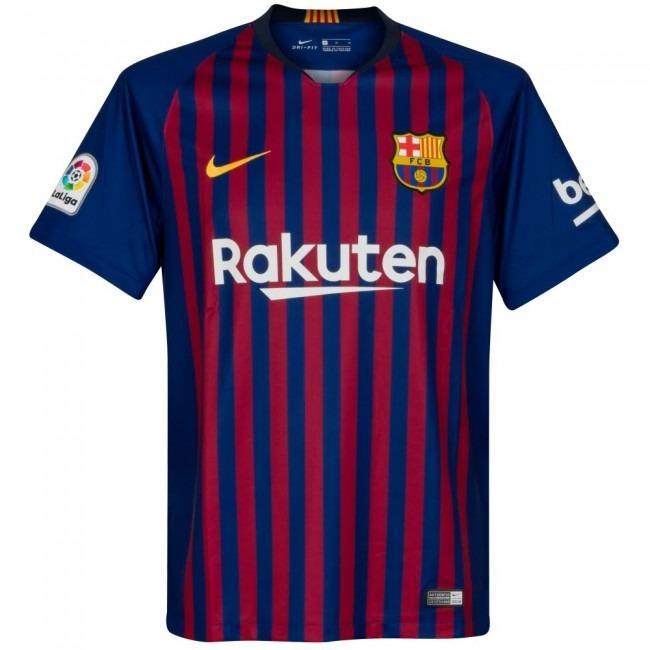 Camiseta Local Barcelona 2019 Nike Oficial Stadium -   2.219 bae86bebffd10