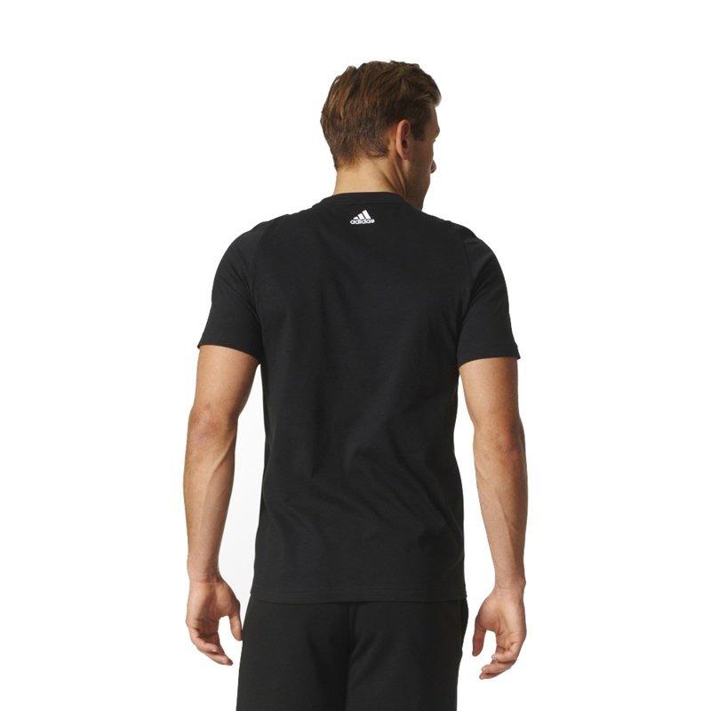 0c553503dd camiseta logo adidas ess biglogo s98724 preto masculino. Carregando zoom.