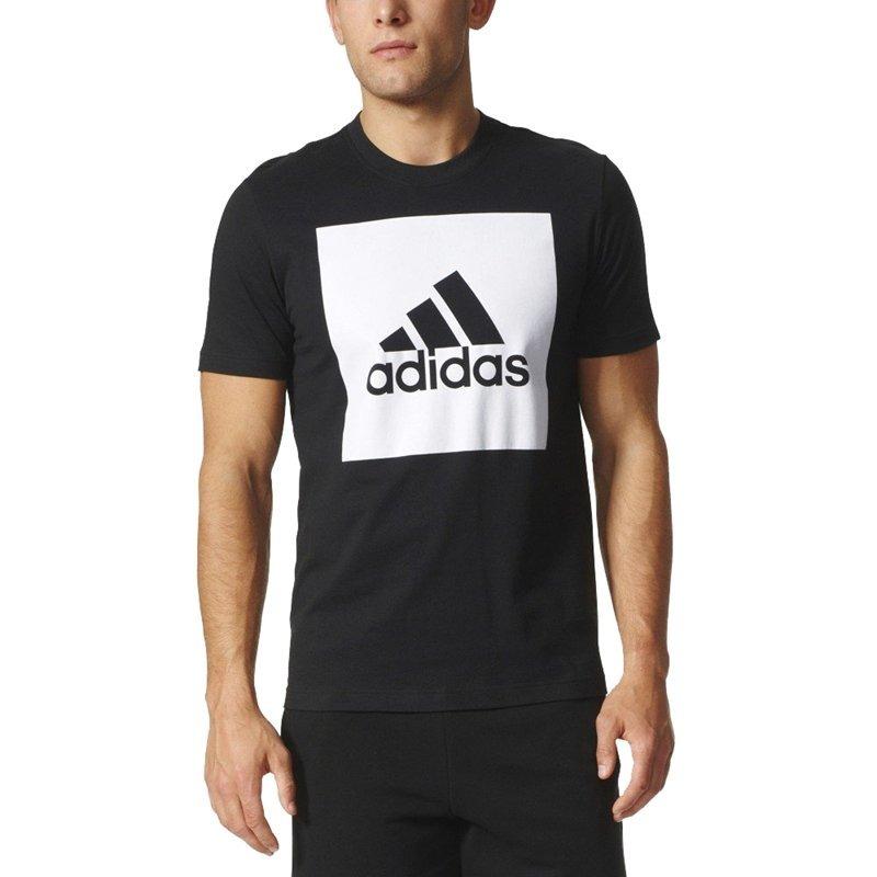 ff2cd0436e050 camiseta logo adidas ess biglogo s98724 preto masculino. Carregando zoom.