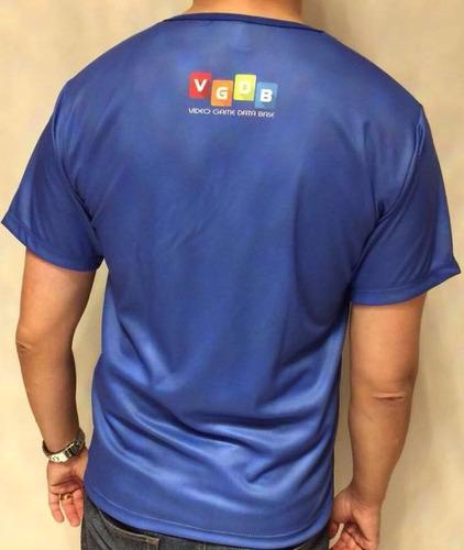 camiseta logo phantom system nintendinho vgdb