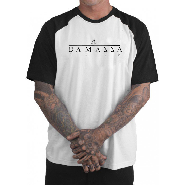 Camiseta Loja Damassaclan Camisa Rap Manga Curta Dmc - R  92 eb46b0b3508
