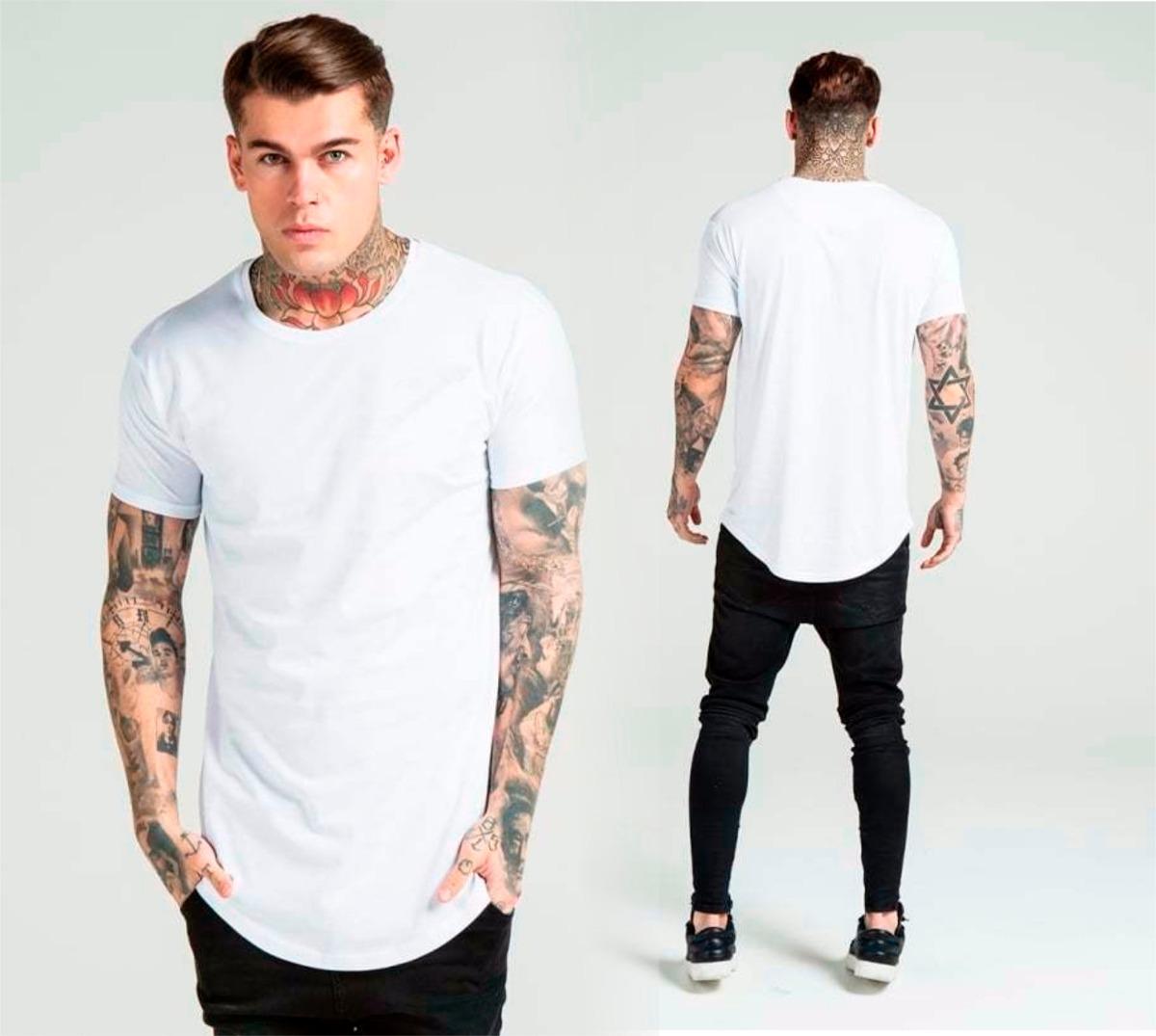 3a574914aa camiseta longa oversized swag masculina longline promoção. Carregando zoom.