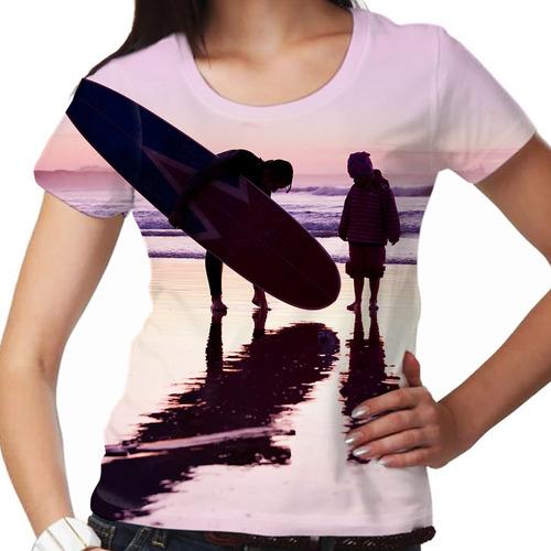 camiseta longboard child feminina
