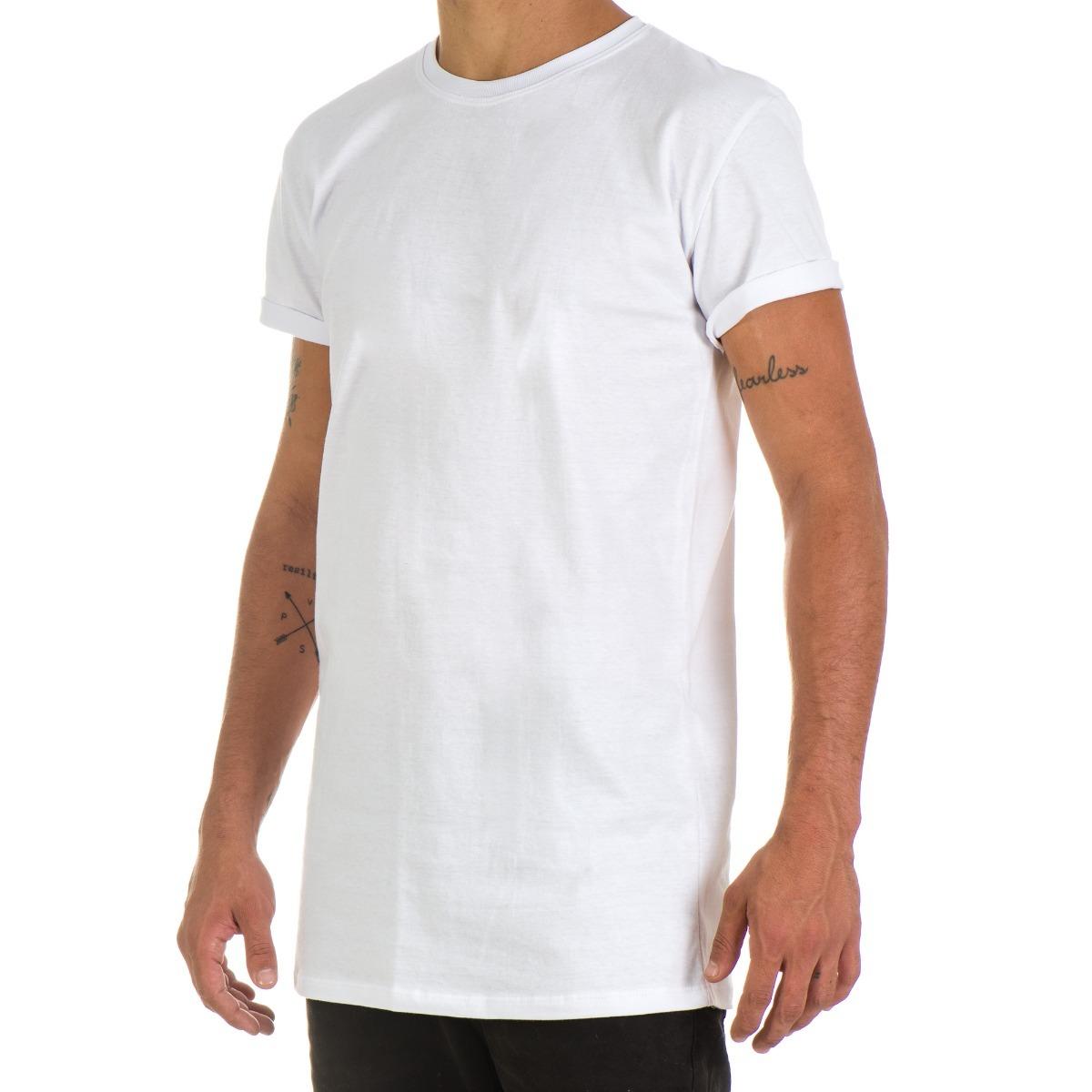 fe3123288 camiseta longline lisa unissex oversized swag basica. Carregando zoom.
