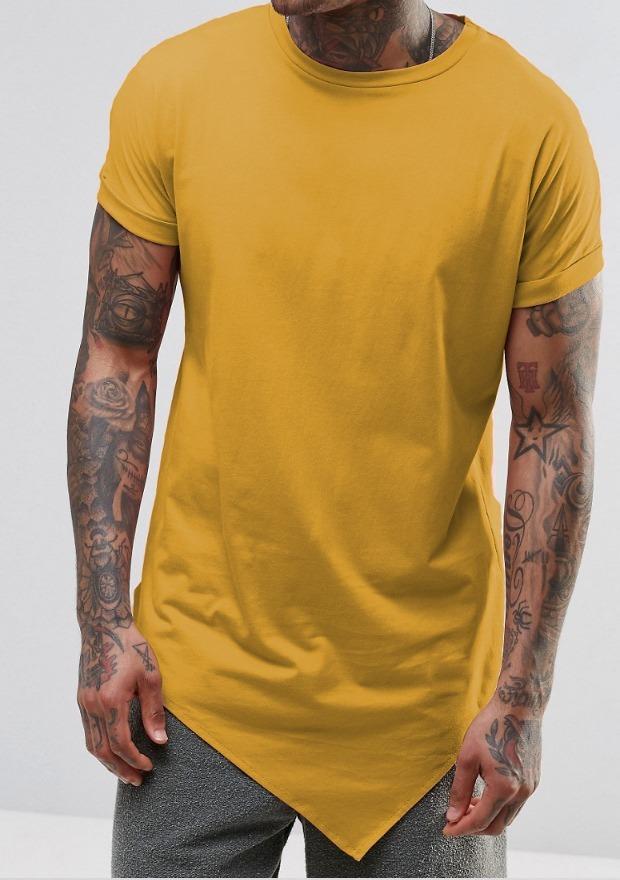 afcc81469 camiseta longline oversized swag bico camisa blusa amarelo. Carregando zoom.