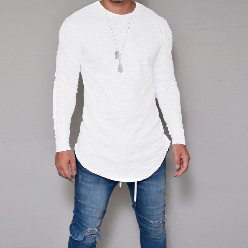 7202f0ffe Camiseta longline oversized swag manga longa camisa branca carregando zoom  jpg 800x800 Branca camiseta longline longa