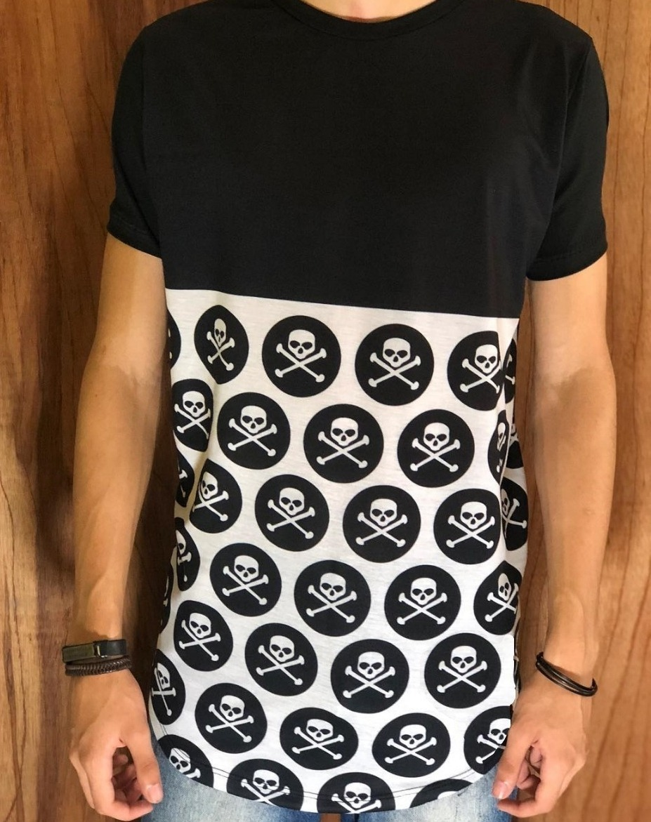 e9edca8722 camiseta longline personalizada moda oversized swag. Carregando zoom.