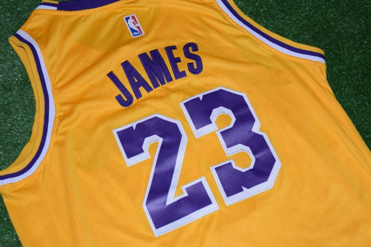 newest 39c6a e77bf Camiseta Los Angeles Lakers Wish Lebron James 23