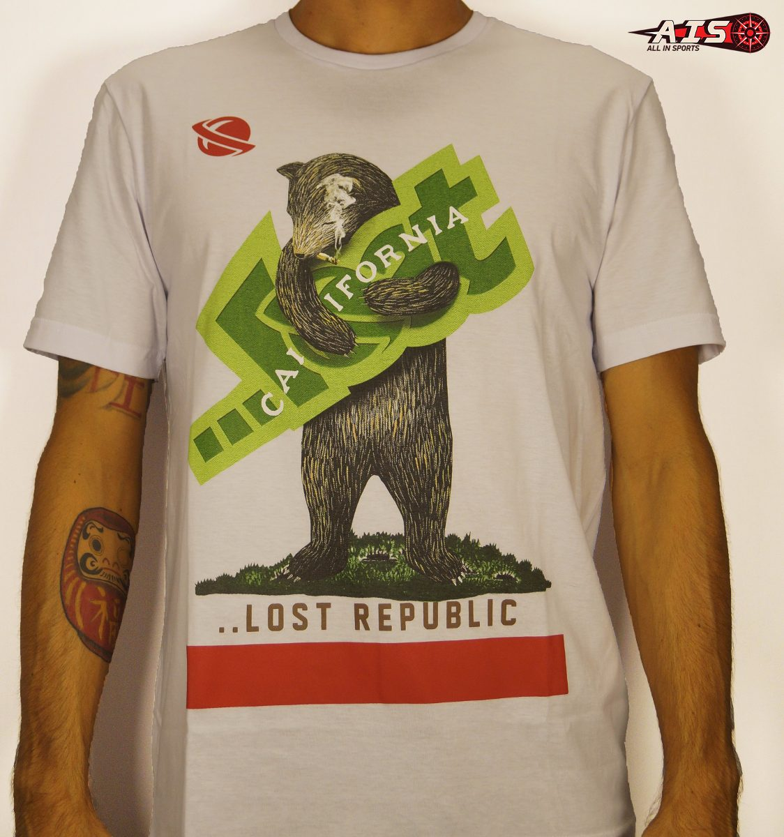 camiseta lost - califa bear. Carregando zoom. 0ee555c05b569