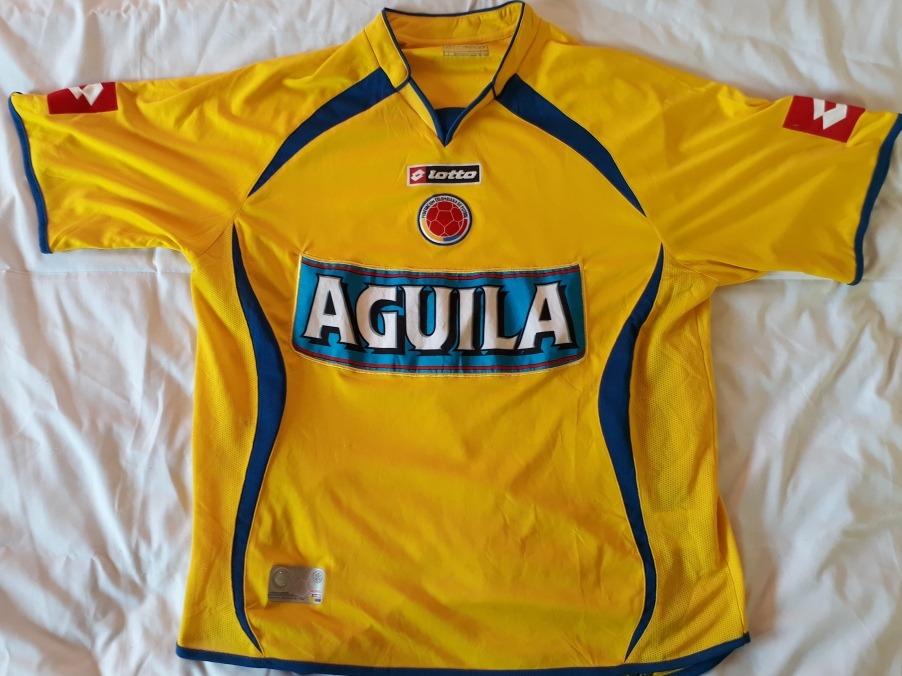 cbda5af8ac343 Camiseta Lotto Selección Colombia Original -   42.111 en Mercado Libre