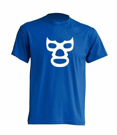 camiseta lucha libre blue demon