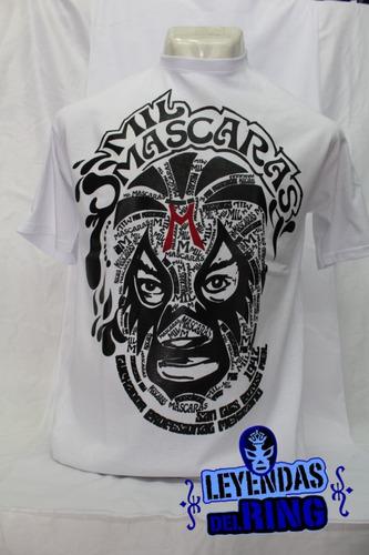camiseta lucha libre mil mascaras
