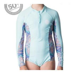 Camiseta Lycra Infantil Proteção Uv Surf Suit - Rip Curl