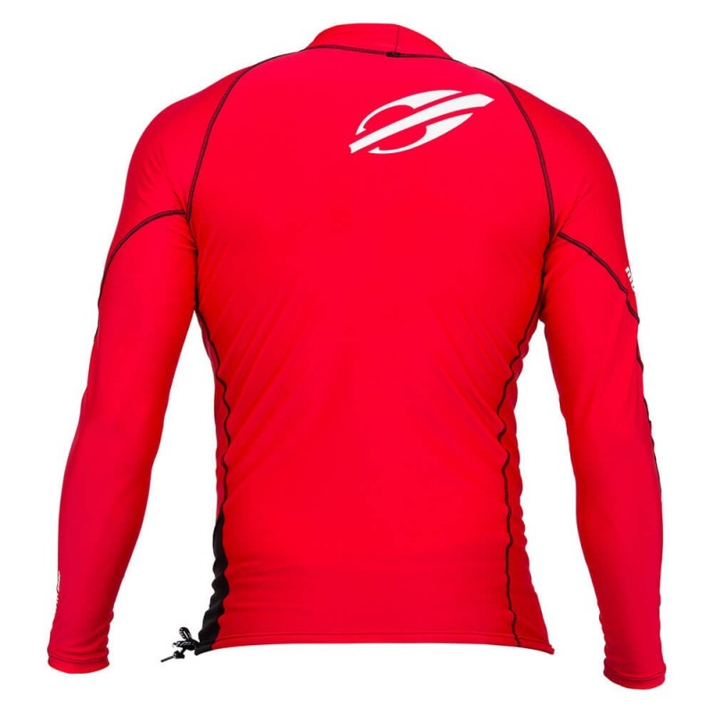d3d5fd33a6509 camiseta lycra mormaii manga longa snap vermelho preto. Carregando zoom.
