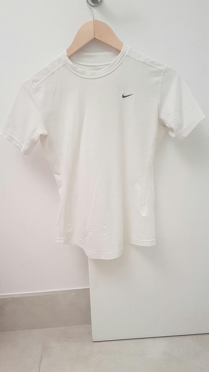 789ef2561f1f3 Camiseta Lycra spandex Nike (dry-fit Branca) - R  49