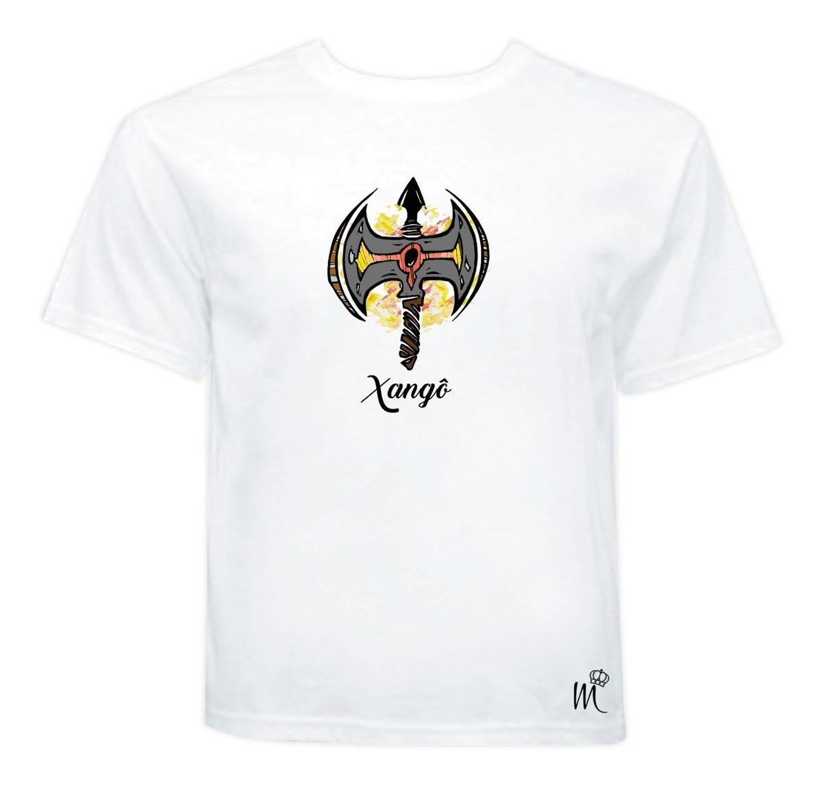 Camiseta Machado De Xango Kao Orixa Umbanda Candomble R 33 90