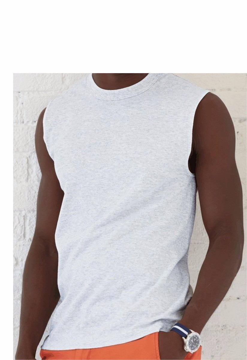 camiseta machão branca dry fit 100%poliester. Carregando zoom. 7b4f89e82c3
