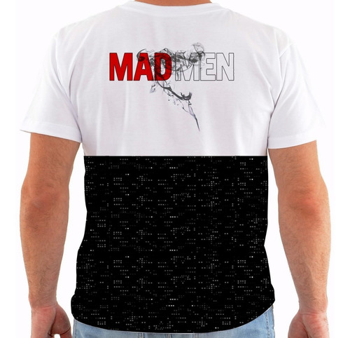 camiseta mad men - serie - don draper m141