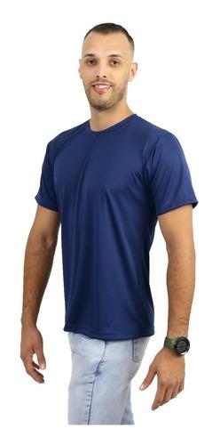 camiseta malha fria 100% poliester não precisa passar pp/gg