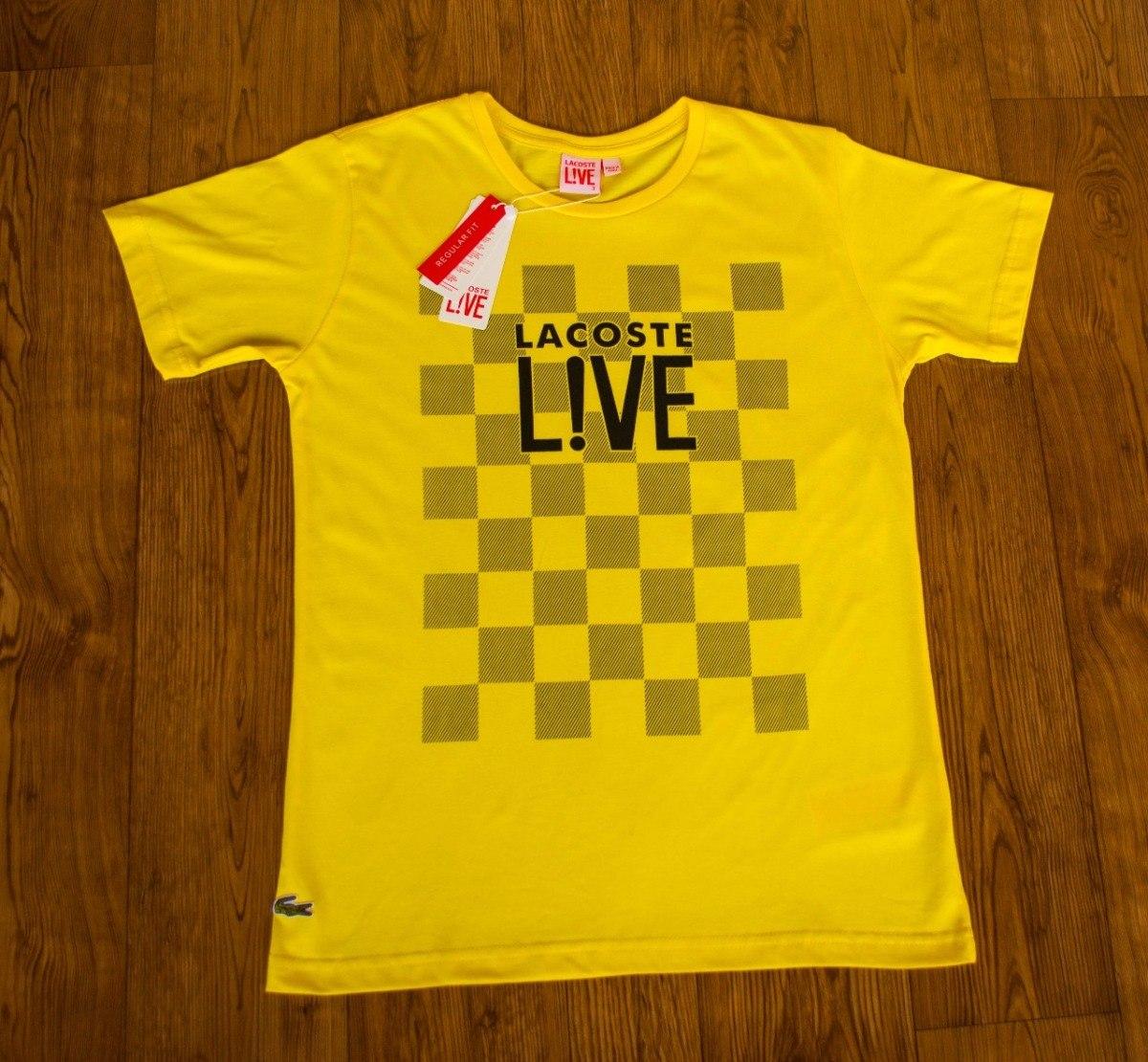 camiseta malha peruana lacoste live 6 unidades frete gratis. Carregando  zoom. 2831dd66d2