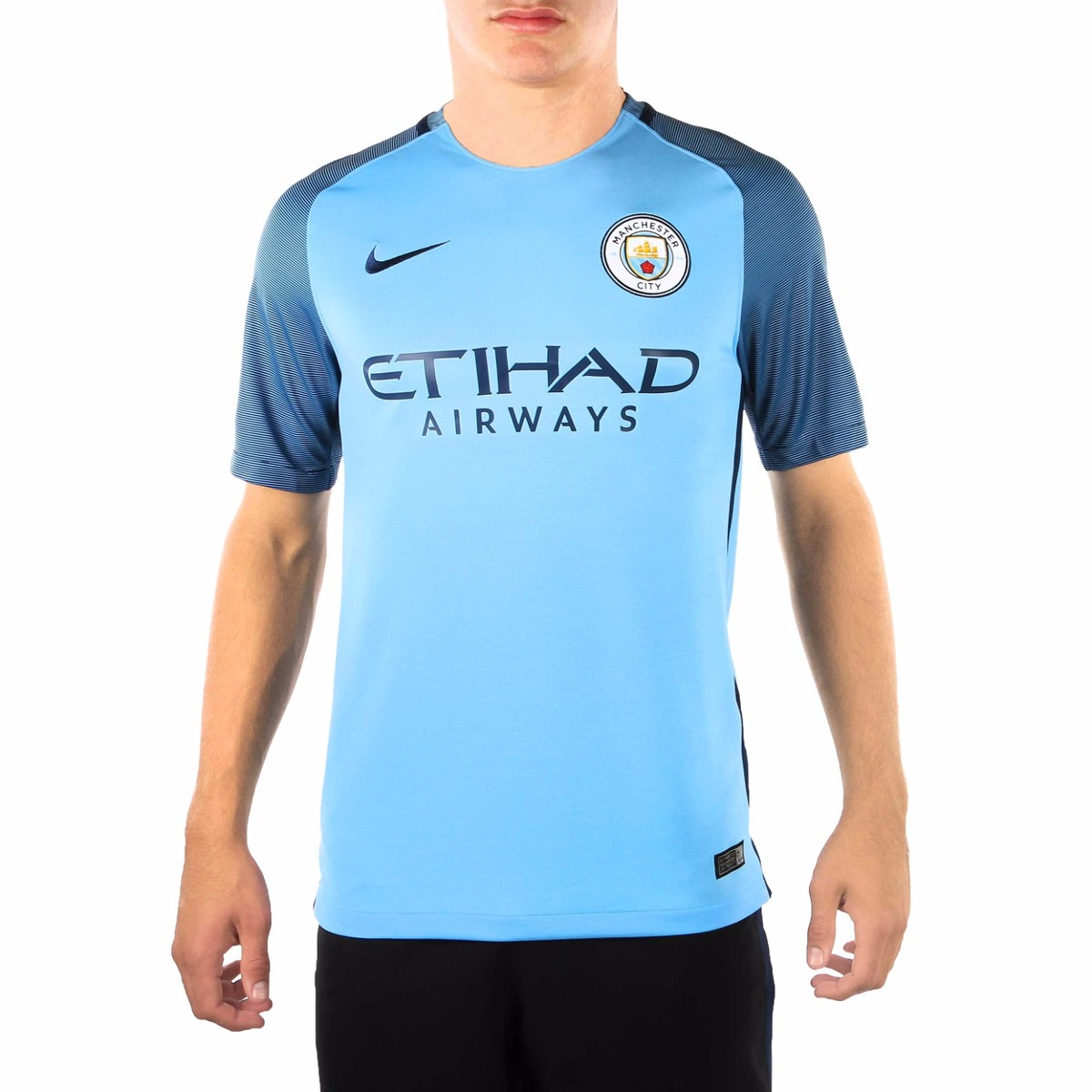 301186f49 camiseta manchester city oficial 2016 2017 local nike. Cargando zoom... camiseta  manchester city. Cargando zoom.