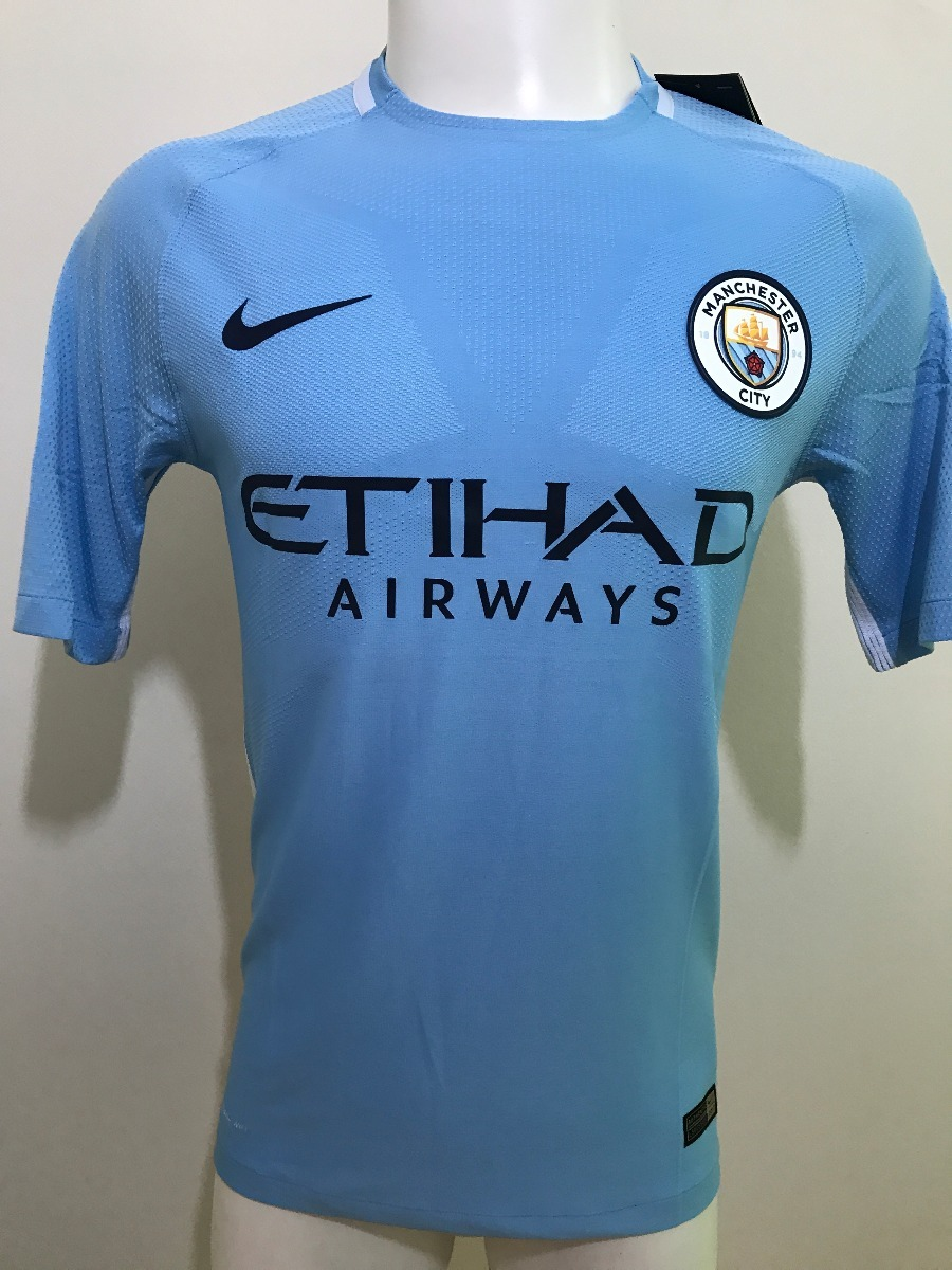 e15d58b8cb992 Camiseta Manchester City Version Jugador 2017 2018 -   20.000 en ...
