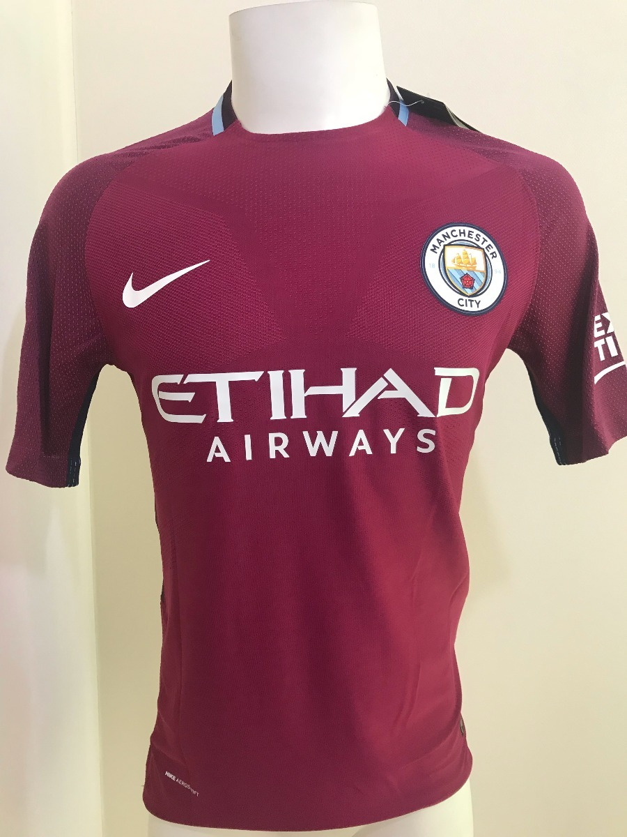b60cd84cf7bbf camiseta manchester city visita version jugador 2017 2018. Cargando zoom.