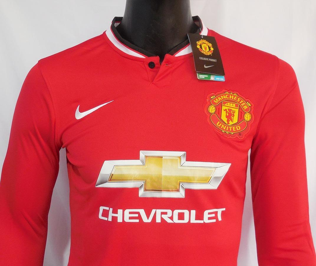 equipacion Manchester United manga larga d9e879a54b9