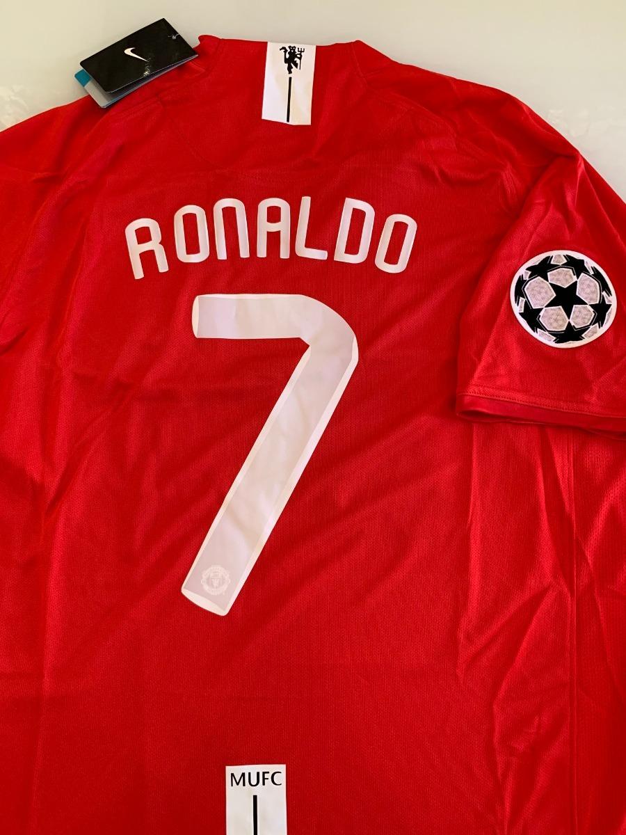 camiseta manchester united-  7 ronaldo -final champions 2008. Carregando  zoom. a437bb2c157b3