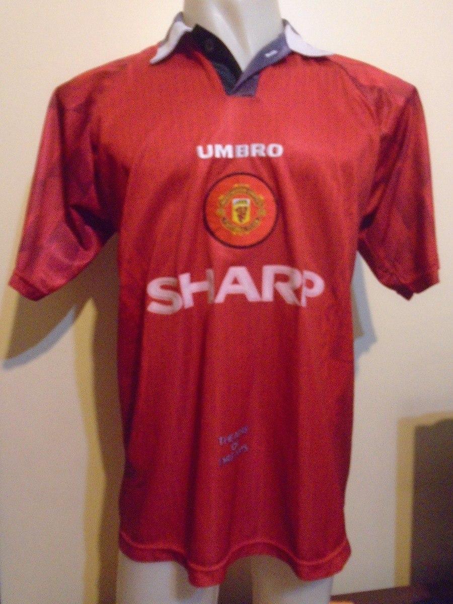 camiseta manchester united inglaterra 1996 1997 beckham 10 l. Cargando zoom. 9c23246586a7b