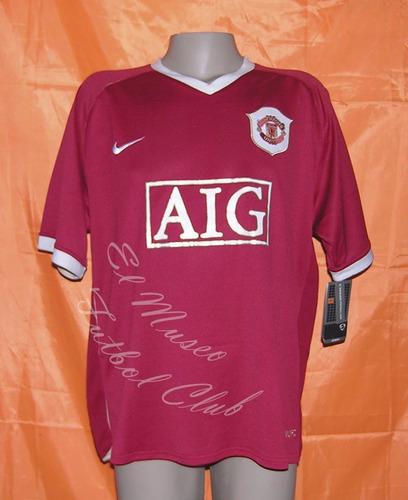 camiseta manchester united inglaterra 2006/2007 #7 ronaldo