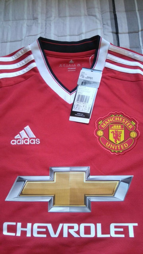camiseta manchester united original talla 15-16 small