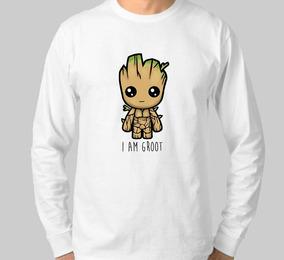 db6fa238cc Baf Goot Manga Longa - Camisetas e Blusas no Mercado Livre Brasil