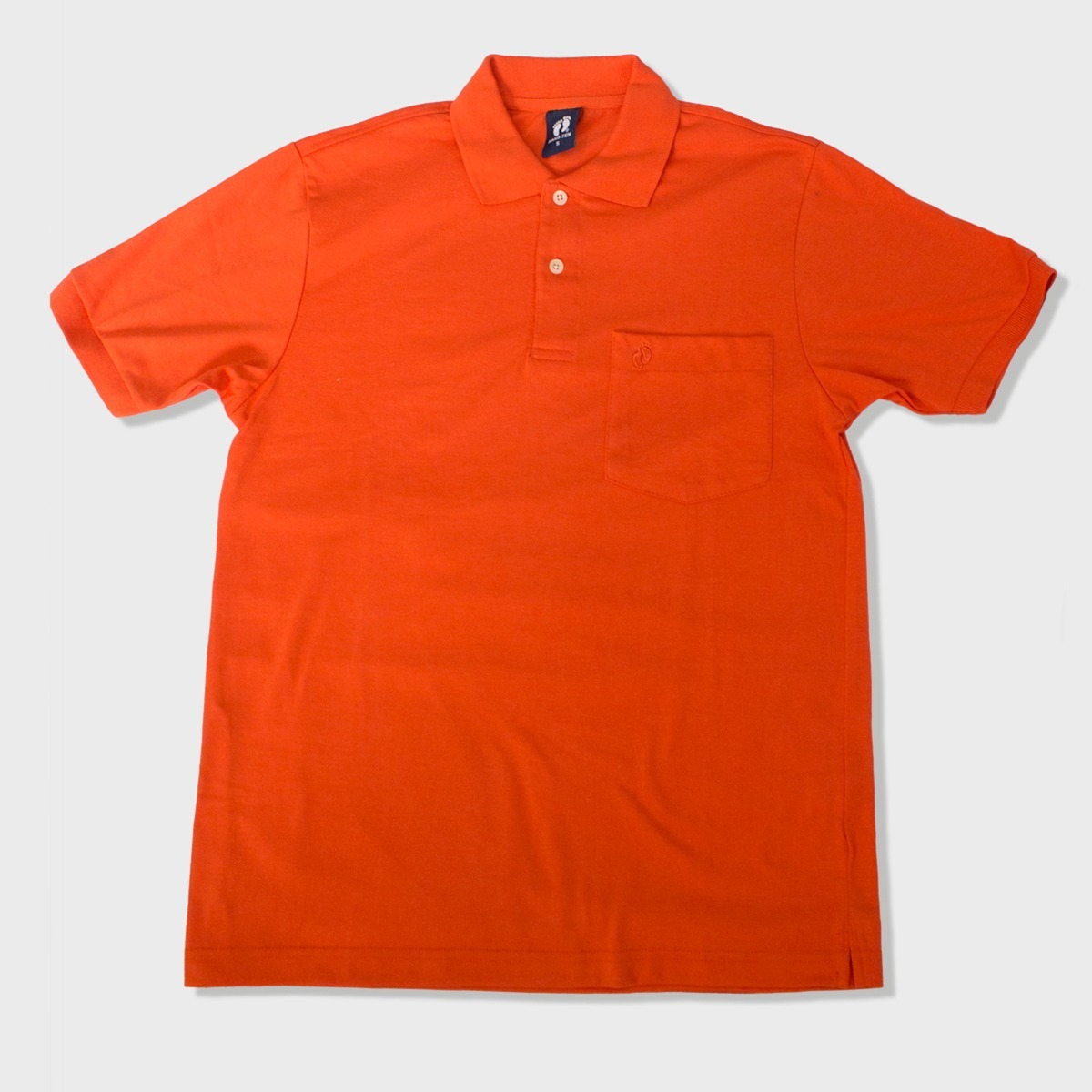 Camiseta Manga Corta Cuello Tipo Polo Color Anaranjado -   48.743 en ... c6f29cbc01184
