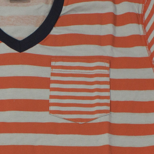 camiseta manga corta hombre color naranja insanity talla s